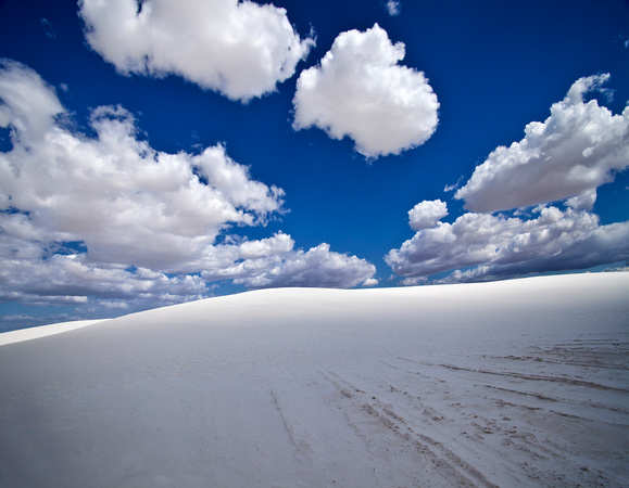 Light on the Edge - White Sands, New Mexico