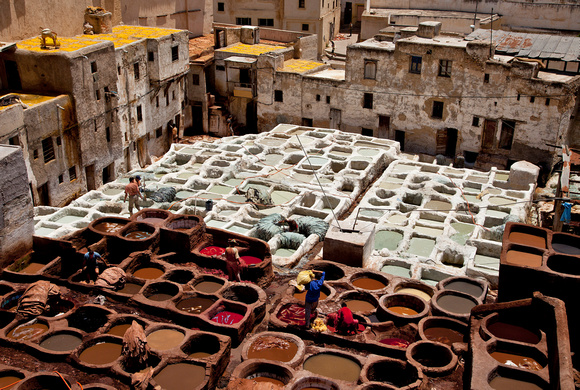 The Tanneries - Fez